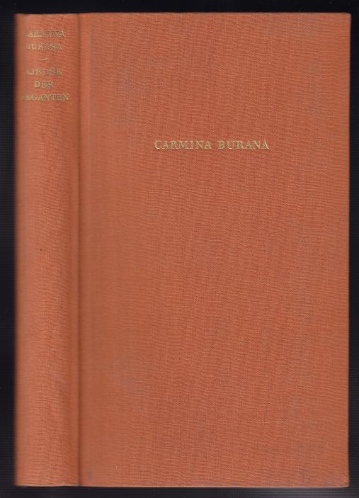 CARMINA-BURANA-Lieder-der-Vaganten-Lateinisch-1954